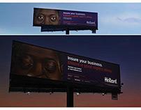 The Sleeping Billboards // Outdoor // Hollard Insurance
