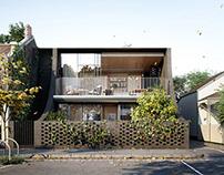 3D Exterior&Interior visualization for Melbourne house