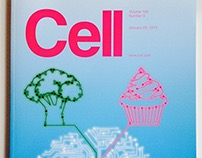 Cell Journal Cover Illustration