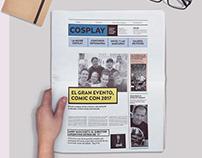 Diario para la Comic Con 2017