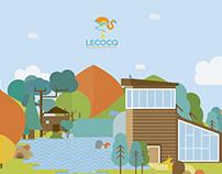 Reserva Lecocq diseño de identidad
