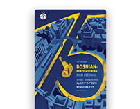 15th Bosnian-Herzegovinian Film Festival Visual Design