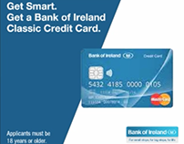 Bank of Ireland Credit Card Campaign