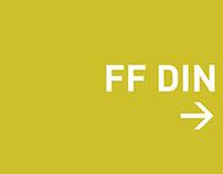 FF DIN Type Specimen Interactive PDF