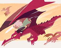 a Dragon Knight