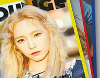 Lounge Magazine (Kim Taeyeon)