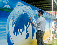 High School Mural Painting Project