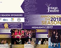 2018 Vintage Theatre Brochure