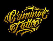 Diseño de T-shirt para Criminal Tattoo