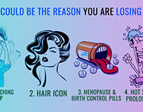 This could be the reason you are losing hair