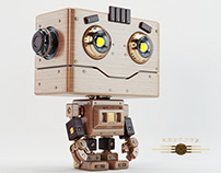 Vintage robotoy