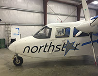 North Star Air Tours Airplane Graphics