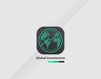 DailyUI 005 - Global investments app icon