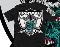 NIGHTMARE RAIDER (shirt)