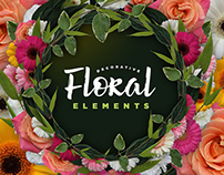Decorative Floral Elements Kit