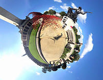 Plymouth is a Tiny Planet