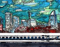 panorama Series Shin-Yokohama Station~morning~