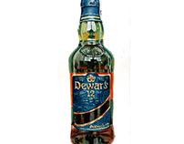 Dewar's, acrilico