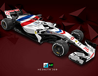 Re:Imagined - 2018 Hesketh concept Livery