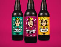 Lionza Cerveja Artesanal | Identity & Package Design