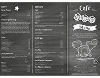 Menu Cocktails - Café Décalé au Havre