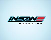 Insane Motoring Brand Identity