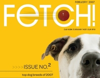 Fetch Magazine - Student Work
