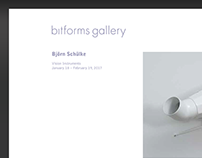 Bitforms gallery Website