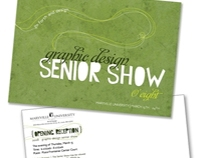 Maryville University Senior Show Invite