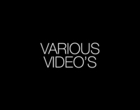 Various video's