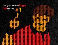 Roger Federer 287 #1