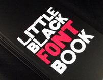 Little Black Font Book
