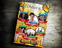 Poster Kermis 2017 du commerce