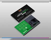 Discount card design / business card design