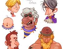 Captain Bobby - town folks character exploration