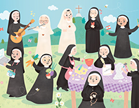 Happy nuns