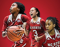 2014-15 NC State Women's Basketball Media Guide Cover