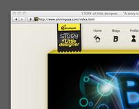 Story of Little Designer Website