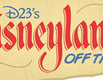 D23'S DISNEYLAND OFF THE MAP LOGO - 3.2012