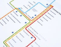 Amsterdam Metronet | Amsterdamse Metrokaart