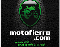Motofierro, motor web.