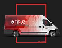 Piruz Sağlık Hizmetleri Brand Identity, Web Design