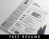 [ Free ] YA Resume, Letter & Portfolio