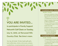 Family Support Network Golf Classic Brochure