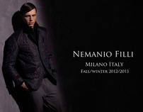 NEW CAMPAIGN - Nemanio Fili Fall/Winter 2012/2013