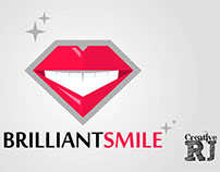 FREE DOWNLOAD and TUTORIAL Brilliant Smile Logo by Crea