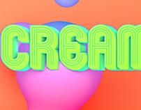 3D Experiment | Cream