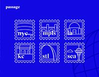 Passage travel app