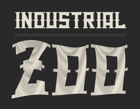 Industrial Zoo - font + png pack
