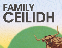 Family Ceilidh - Promotional Material